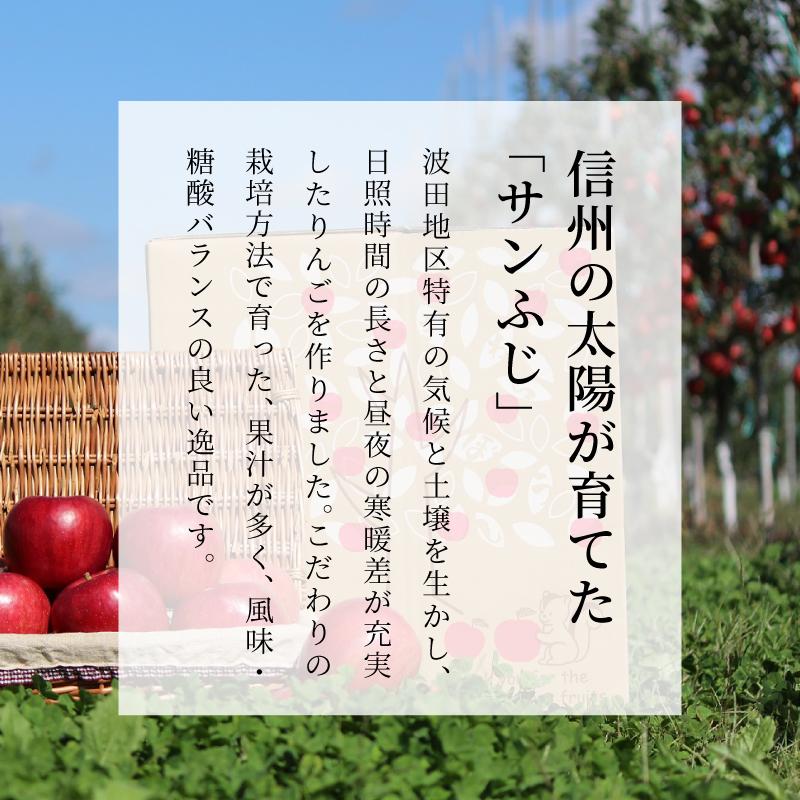 長野県産りんご むぎわらぼうし 通販 お取り寄せ 産地直送