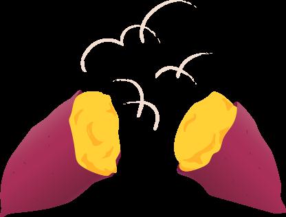 芋イラスト