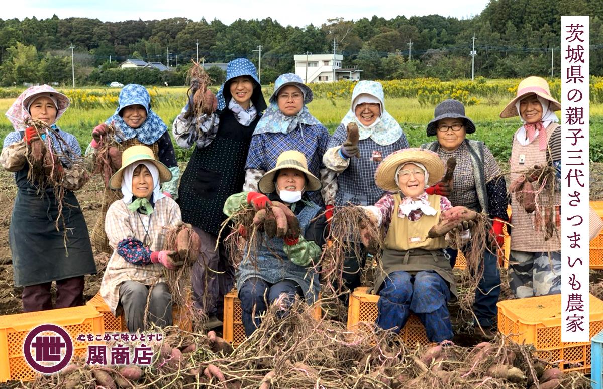茨城県の親子三代さつまいも農家
