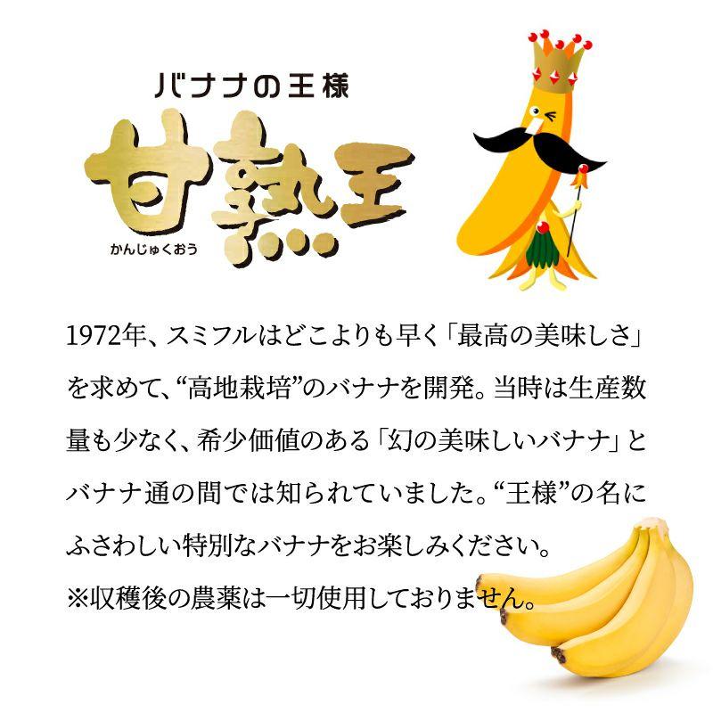 バナナの王様 甘熟王とは?元祖高地栽培バナナ