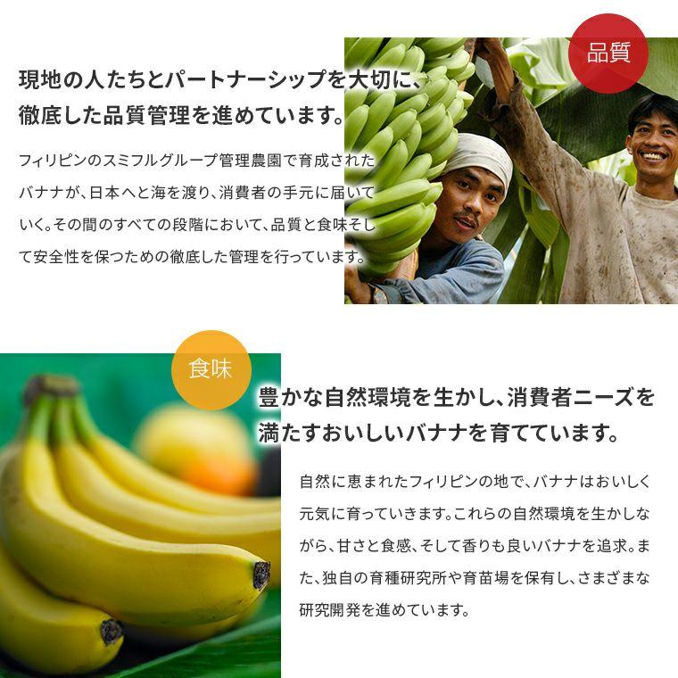 スミフルとは?バナナ 甘熟王 こだわり