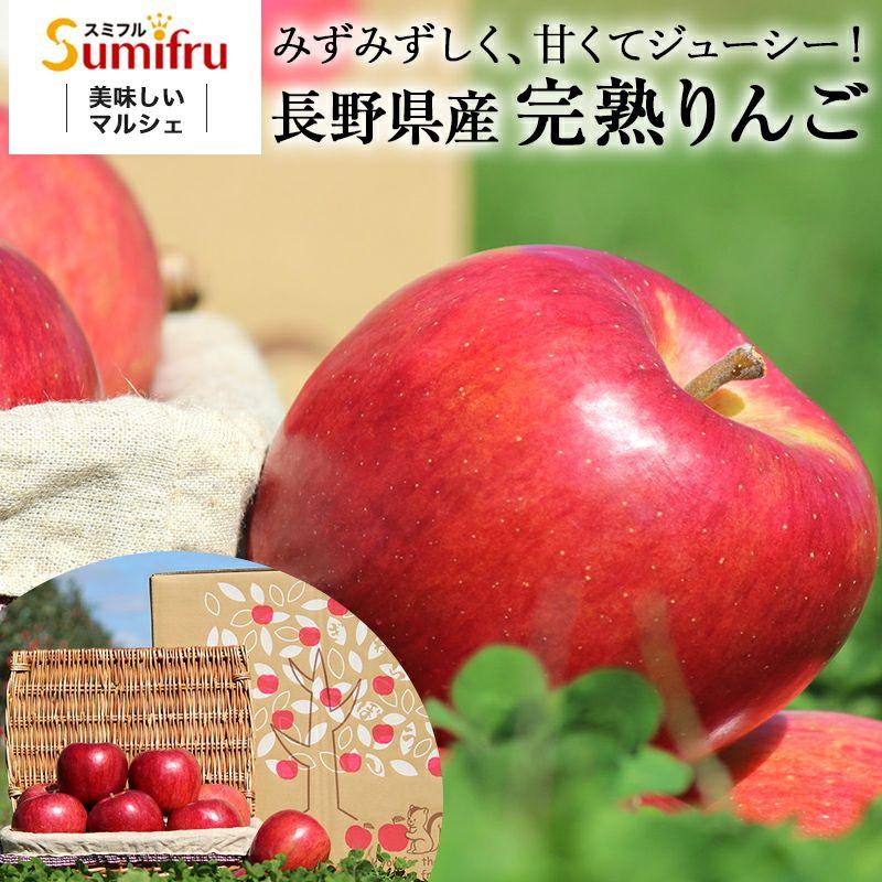長野県産 りんご リンゴ 通販 お取り寄せ むぎわらぼうし